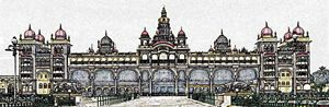 Mysore Palace Digital Image