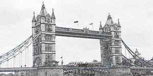 Tower Bridge Digital Image