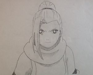 Ino from the Anime Naruto