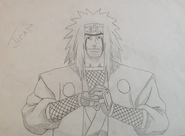 Jiraya from the Anime Naruto - RawArt