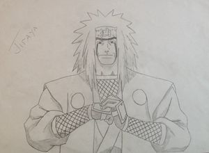 Jiraya from the Anime Naruto