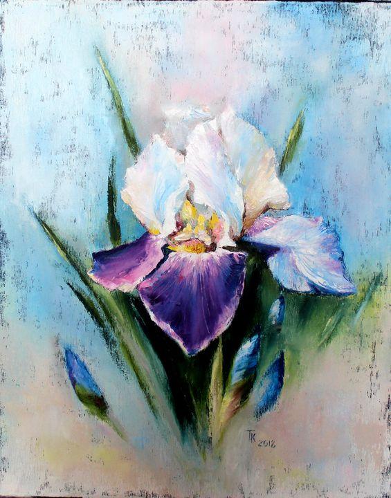 The luxury of flowering - TK art style