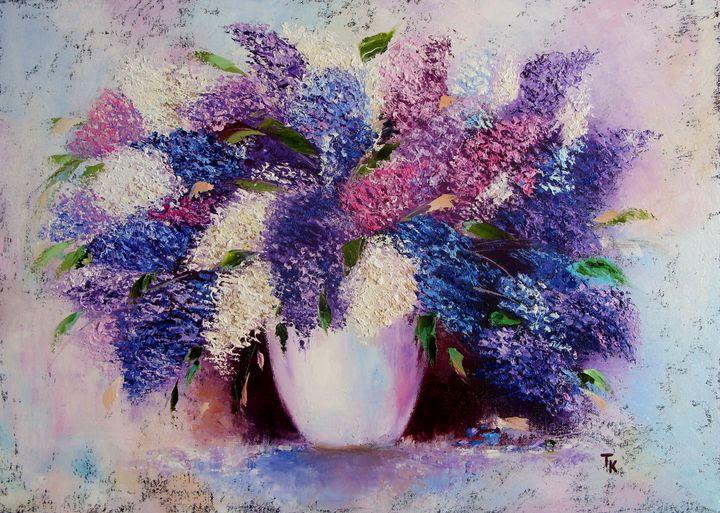 Lilac bouquet - TK art style