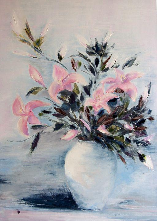 Lily bouquet - TK art style