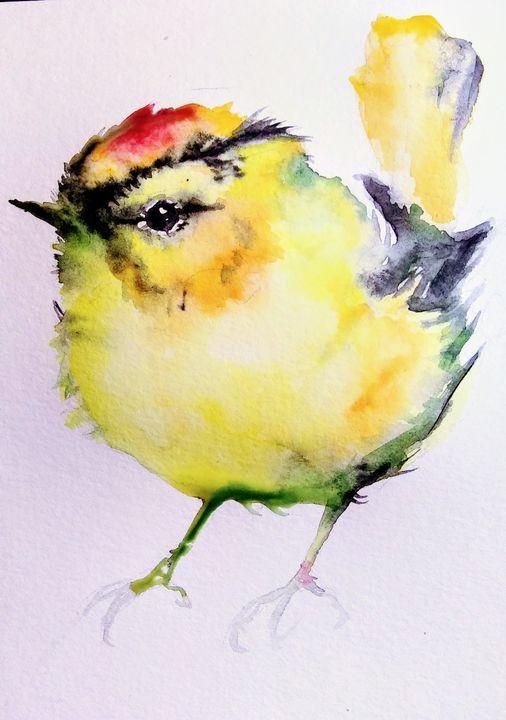 Yellow bird - Daniela