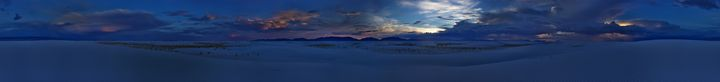 White Sands - Landscapes of the American West
