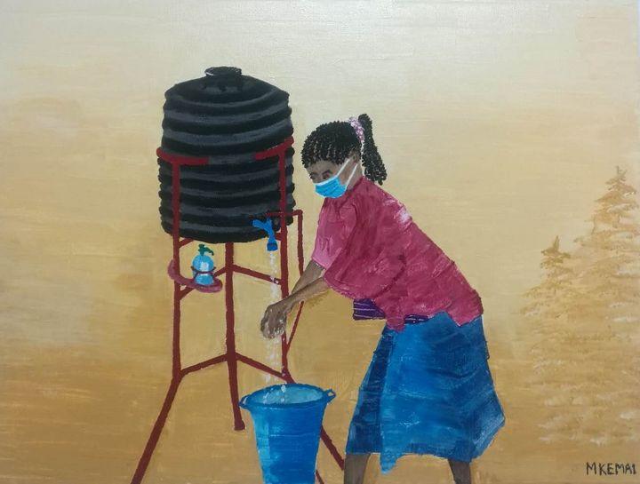 Wash hands - Mkemai