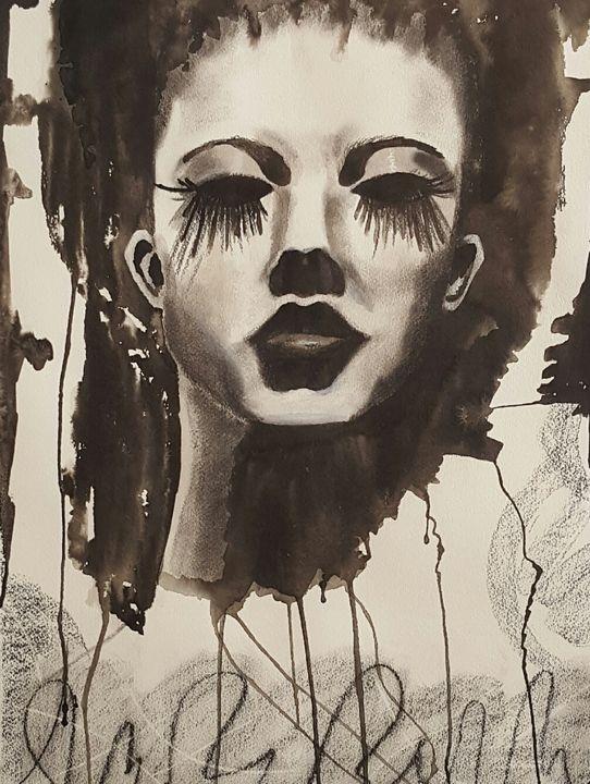 """Chicago Girl"" - Paris Art Cellar by Cathy"