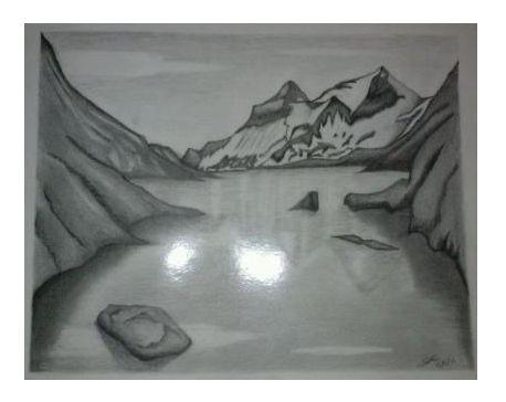 Pencil landscape - Sergio Rea's Art