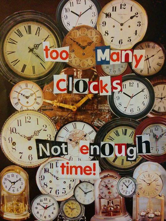 Too Many Clocks - Cory Gladfelter