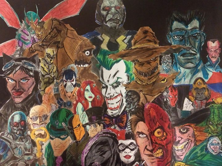 DC villains - The Parker Gallery