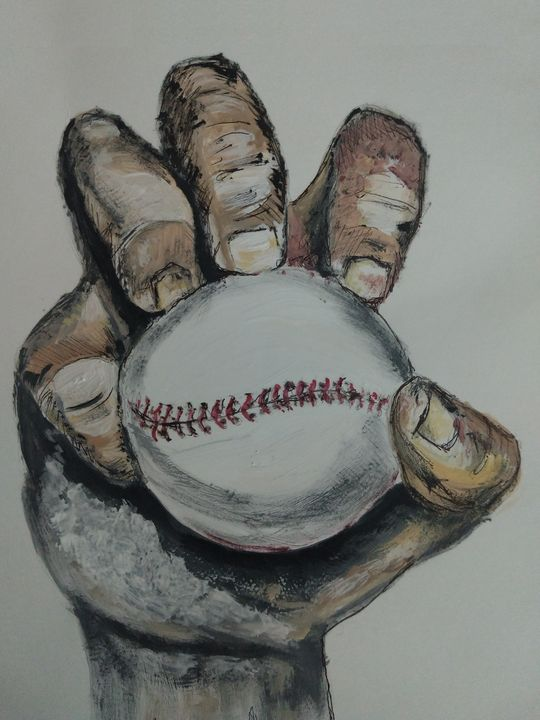 Baseball - Knuckle Ball - The Parker Gallery