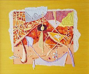 Object 4, acrylic on canvas, 46x55