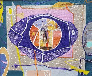 Object, acrylic on canvas, 46x55
