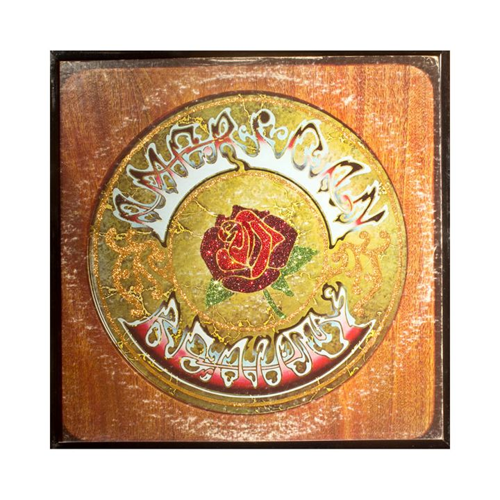 Glittered Grateful Dead Album Cover - mmm designs