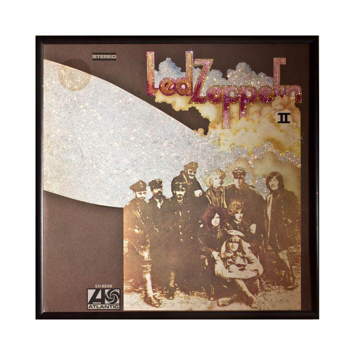 Glittered Led Zeppelin Album Cover A - mmm designs
