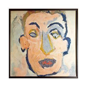 Glittered Bob Dylan Album Cover Art