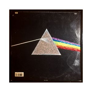 Glittered Pink Floyd Album Cover Art