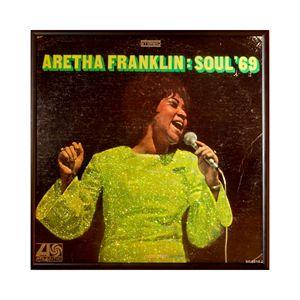 Glittered Aretha Album Cover Art
