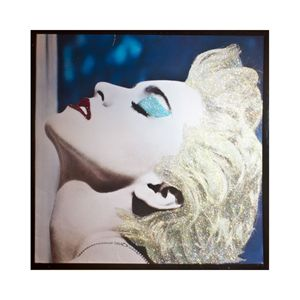 Glittered Madonna Album Cover Art