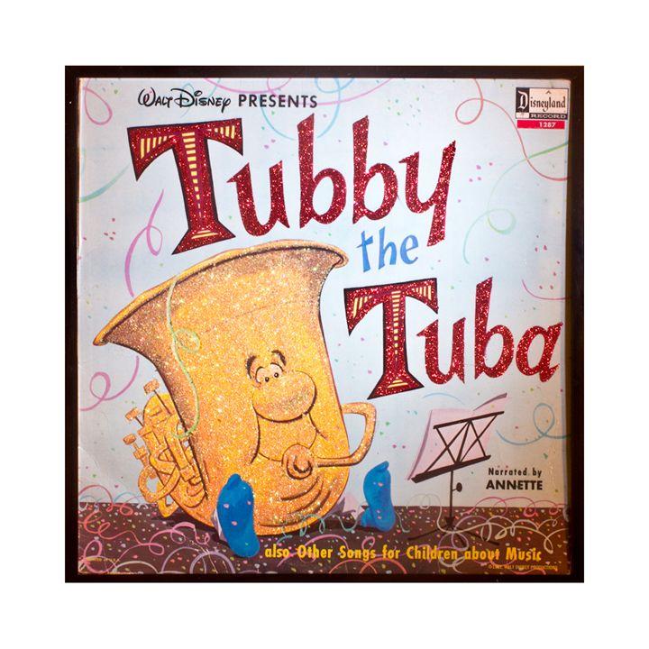 Glittered Tubby the Tuba Album Art - mmm designs