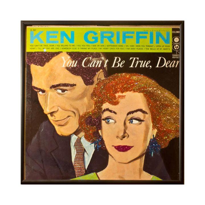 Glittered Ken Griffin Album Art - mmm designs