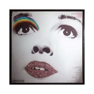Glittered Judy Garland Album Art