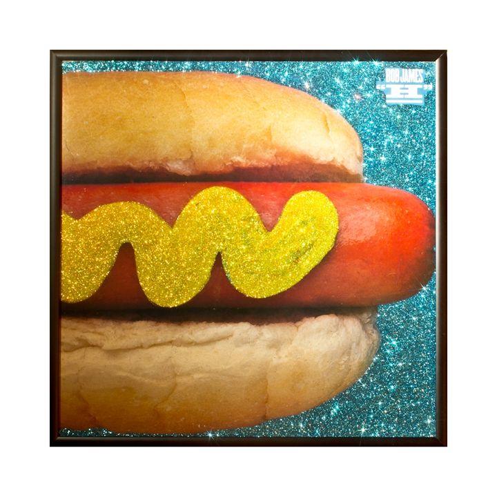 Glittered Bob James Album Cover Art - mmm designs
