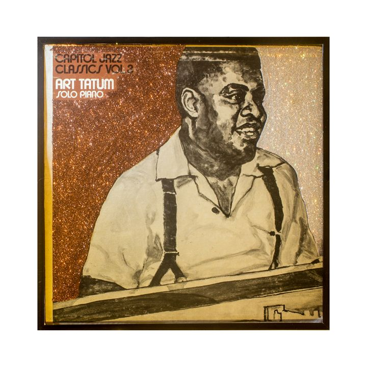Glittered Art Tatum Album Cover Art - mmm designs