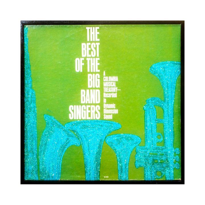 Glittered Big Band Album Cover Art - mmm designs