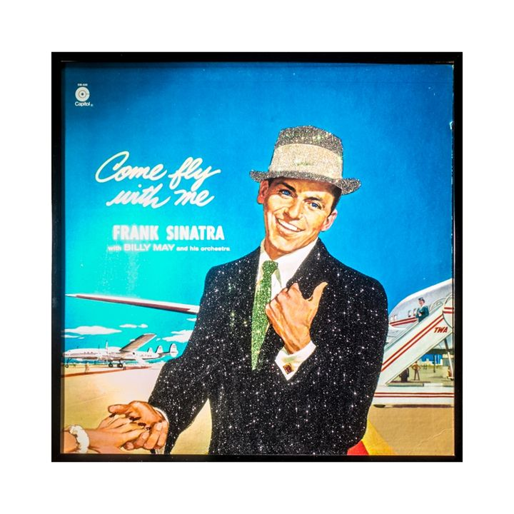 Sinatra Come Fly With Me Album Art - mmm designs