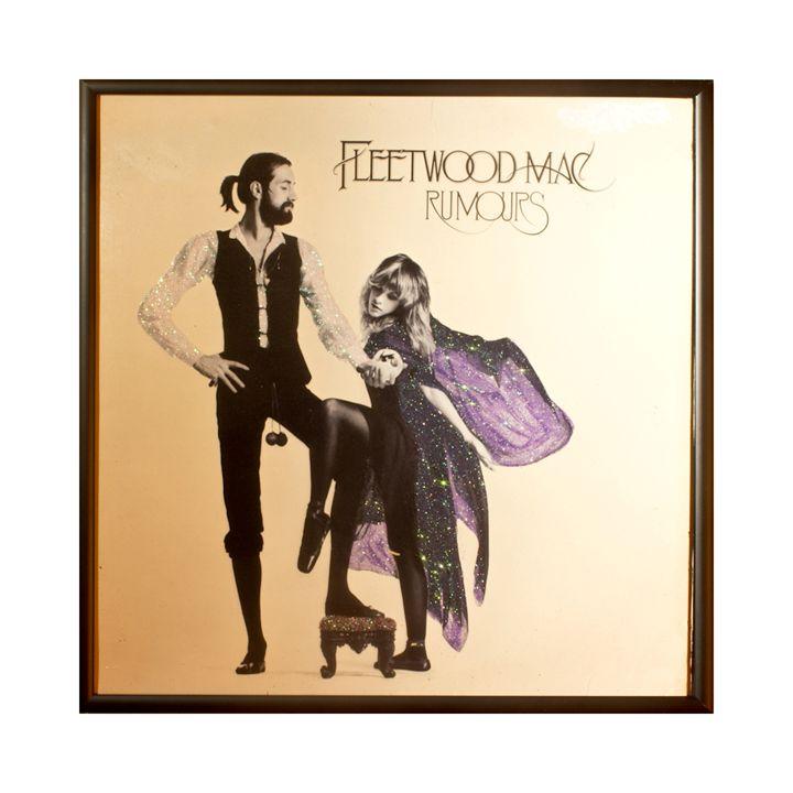 Glittered Fleetwood Mac Rumors Art - mmm designs