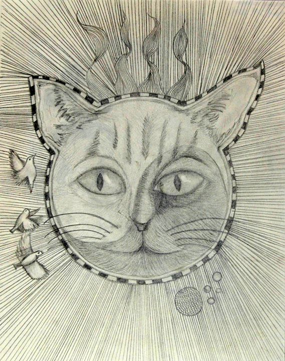 Trippy Cat - KillerArt