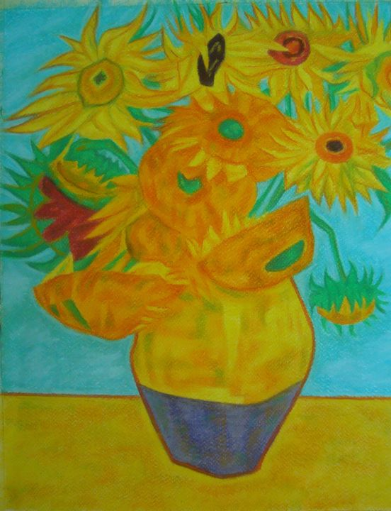 Sunflowers - Volkov Art