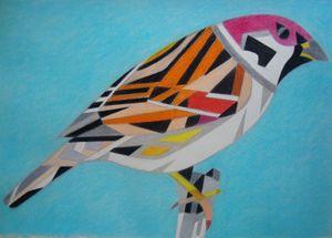Sparrow - Volkov Art