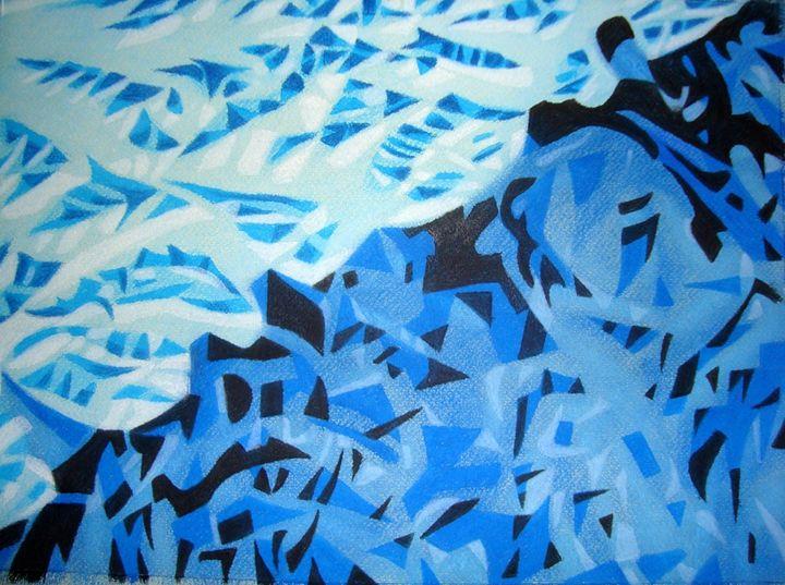 Blue - Volkov Art