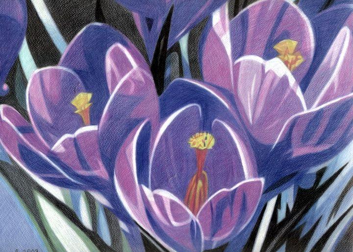 Spring flowers - Volkov Art