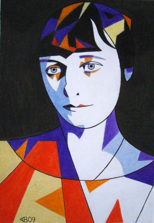 Anna Akhmatova - Volkov Art