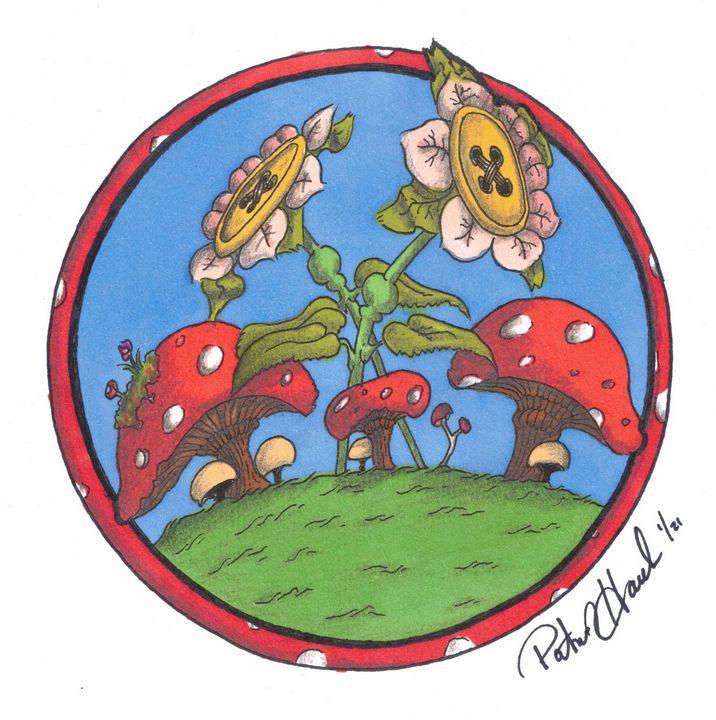 Buttonshroom - PatHawkins_art