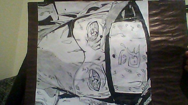 Kakashi Naruto Ink Sketch - Rasin