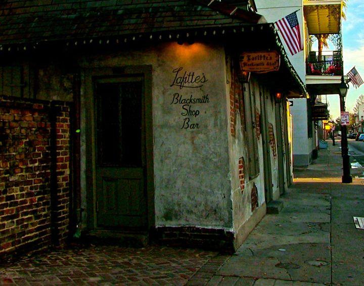 Jean Lafitte's Blacksmith Shop - DUNBAR MERRILL