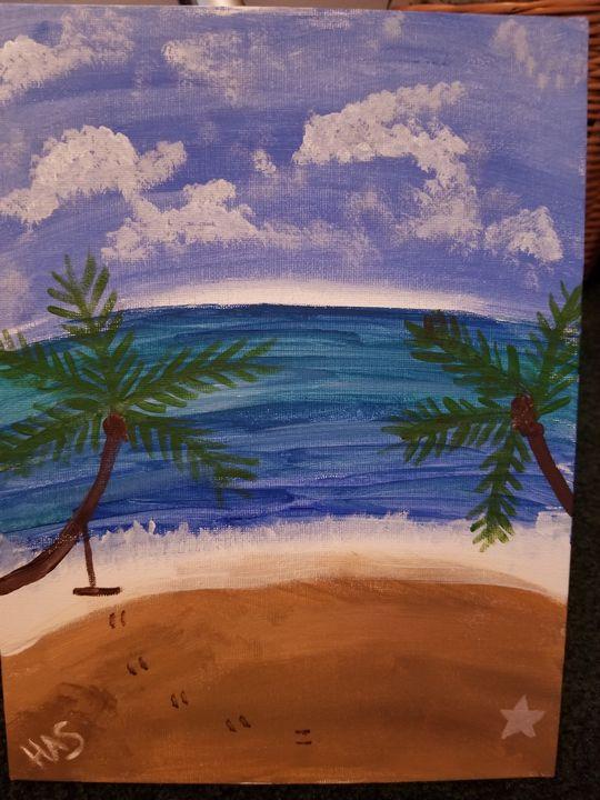 Beach days - Holly
