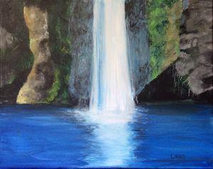 Original Waterfall Painting
