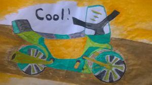 cool motor bike