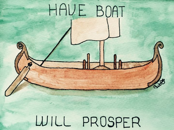 Have BOAT Will PROSPER - Beverly Frisk
