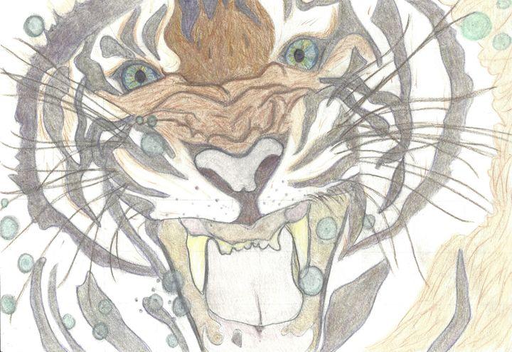 Underwater Tiger - Deja Guinevere