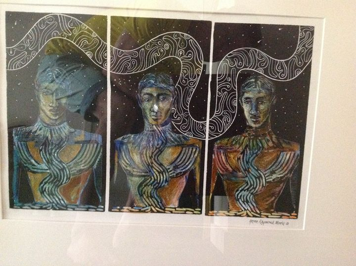 Raymond Meeks print - Colins private collection