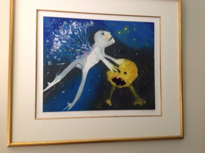 Arthur Boyd print  7/25 - Colins private collection