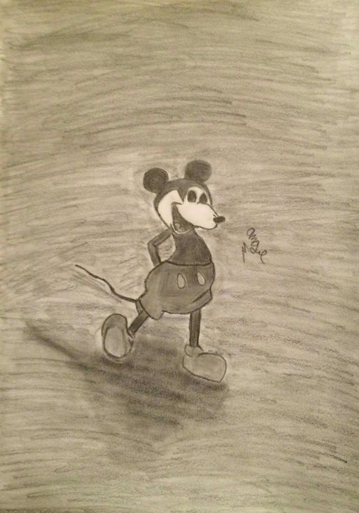 Old mickey mouse - Angel's Art