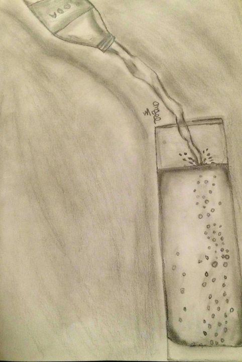 Soda pour - Angel's Art